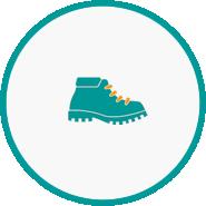 Short strolls icon