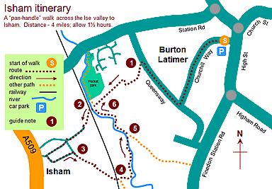 Isham Itinerary