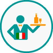 Italian restaurants icon