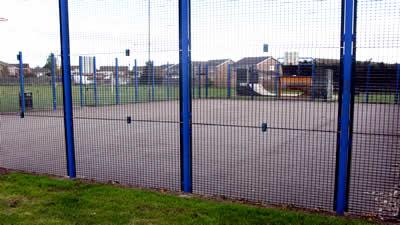 Multi-sports area, King George V Playing Field, Burton Latimer
