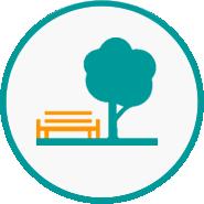 Pocket park icon