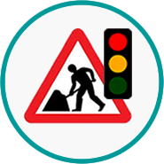 Roadworks link icon