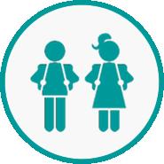 Secondary school icon