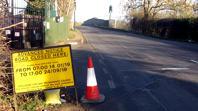 Station Road closure