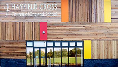 Hayfield Cross School logo